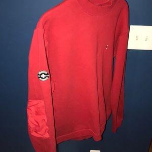 Vintage Victorinox Red Men's Sweatshirt